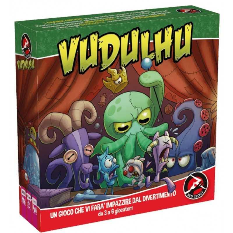 VUDULHU gioco da tavolo PARTY GAME vudù RED GLOVE lovecraft INCANTESIMI età 8+
