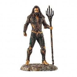 AQUAMAN justice league SCHLEICH supereroi dipinti a mano PERSONAGGI 22560 miniature in resina DC età 3+