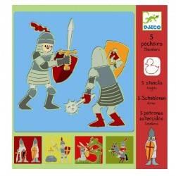 Pochoir « chevaliers »