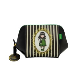 MAXI TROUSSE stripe THE SCARF Gorjuss A RIGHE Santoro 763GJ02 classic SHOULDER BAG borsa