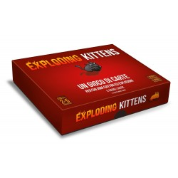 EXPLODING KITTENS edizione italiana GATTI gioco di carte ESPLOSIONI edizione originale ASMODEE kickstarter 7+