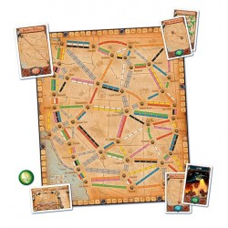 FRANCE + OLD WEST sesta espansione TICKET TO RIDE francia e vecchio west DAYS OF WONDER età 8+