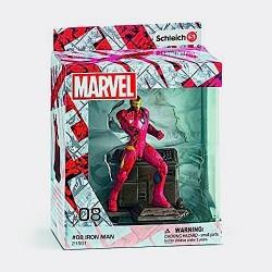 IRON MAN dipinto a mano SCHLEICH 08 MARVEL miniature in resina 21501 personaggi SUPER EROI età 3+