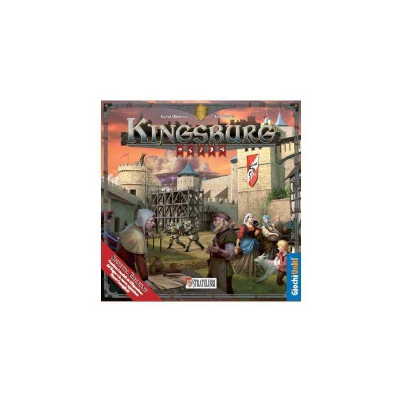 KINGSBURG seconda edizione GIOCHI UNITI stratelibri IN ITALIANO nuova 2017 gioco 10+