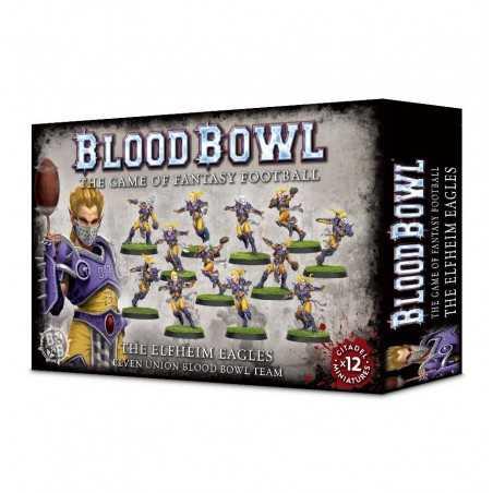 BLOOD BOWL ELFHEIM EAGLES TEAM squadra elfi Games Workshop espansione 12 miniature