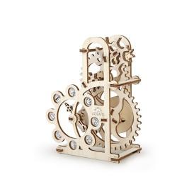 DINAMOMETRO in legno PUZZLE 3D Ugears motore pneumatico da montare 48 pezzi