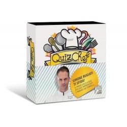 QUIZCHEF gioco di cucina QUIZ CULINARIO in italiano DV GIOCHI chef SIMONE RUGIATI età 14+