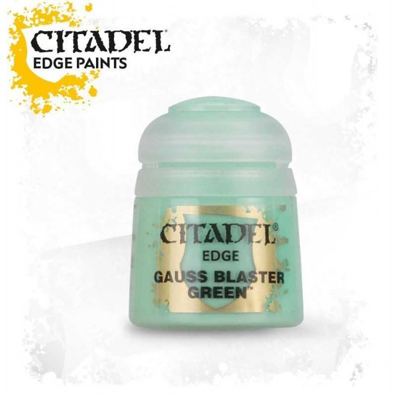 GAUSS BLASTER GREEN colore EDGE paint Citadel acrilico Games Workshop