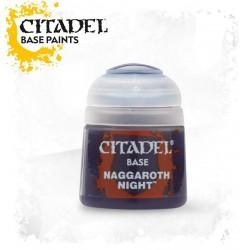 NAGGAROTH NIGHT colore BASE Citadel WARHAMMER Games Workshop BLU acrilico CLASSICO 12 ml