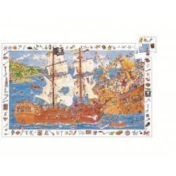 """Entdeckung Puzzle """"Piraten"""", 100 Stück, im Alter von 5-7"""