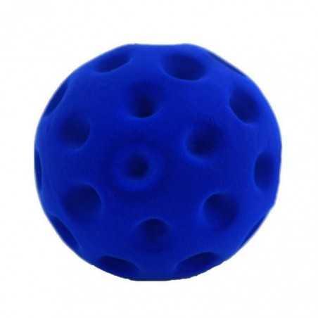 GOLF BALL BLUE palla morbida BLU gomma naturale RUBBABU caucciu GIOCO tattile 1+