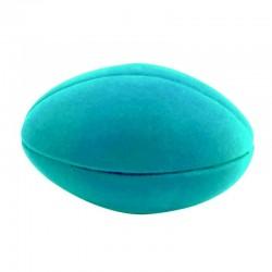 FOOTBALL BLUE palla morbida BALL AZZURRA gomma naturale RUBBABU caucciu GIOCO tattile 1+