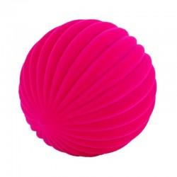 FASHION BALL PINK palla morbida ROSA gomma naturale RUBBABU caucciu GIOCO tattile 1+