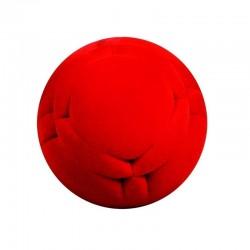 LUNAR MODULE BALL palla morbida ROSSA gomma naturale RUBBABU caucciu GIOCO tattile 1+
