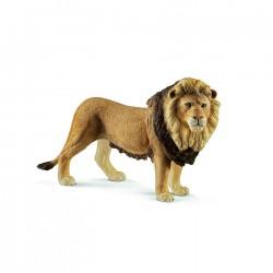 LEONE animali in resina SCHLEICH miniature 14812 Wild Life LION