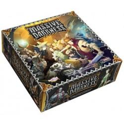 MASSIVE DARKNESS gioco cooperativo ESPLORAZIONE DUNGEON 75 miniature IN ITALIANO guillotine games 14+