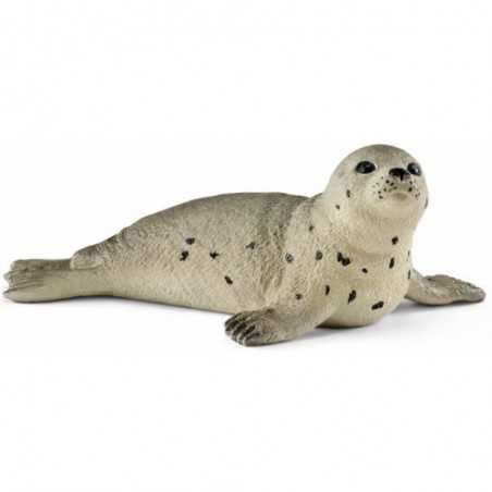 FOCA CUCCIOLO animali in resina SCHLEICH miniature 14802 Wild Life BABY SEAL leone marino 3+