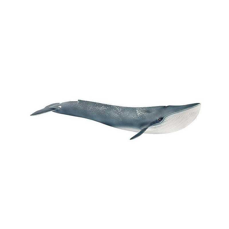 BALENOTTERA AZZURRA 2018 BLUE WHALE animali in resina SCHLEICH miniature 14806 Wild Life BALENA età 3+