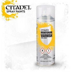 MUNITORUM VARNISH spray finitura Citadel protettivo 400 ml