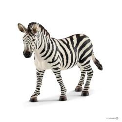 ZEBRA FEMMINA 2018 animali in resina SCHLEICH miniature 14810 Wild Life GIOVANE età 3+