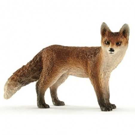 VOLPE 2017 animali in resina SCHLEICH miniature 14782 Wild Life FOX età 3+