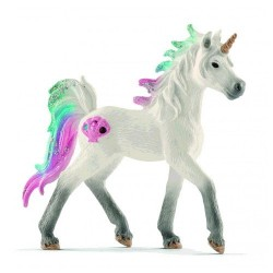UNICORNO DI MARE puledro BAYALA animali in resina SCHLEICH miniature 70572 Fantasy FOAL età 3+