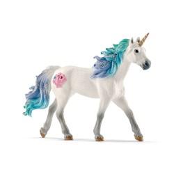 UNICORNO DI MARE stallone BAYALA animali in resina SCHLEICH miniature 70571 Fantasy STALLION età 3+