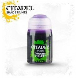 DRUCHII VIOLET colore SHADE Citadel WARHAMMER Games Workshop VIOLA 24 ml