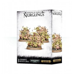 NURGLINGS demoni di Nurgle Warhammer 3 miniature Citadel Games Workshop