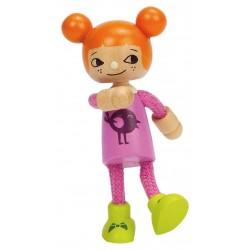 FIGLIA PICCOLA miniatura in legno FAMIGLIA casa delle bambole HAPE accessori E3509 modern family LITTLE DAUGHTER età 3+