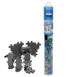 Tubo MINI BASIC 100 pezzi PLUSPLUS ELEFANTE gioco modulare costruzioni età 5+