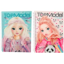 3D ALBUM TopModel Pocket MAKE YOUR OWN top model COLORING depesche STICKERS decorate 2 COVERS