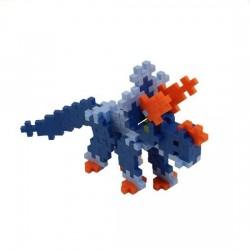 Tubo MINI BASIC 100 pezzi PLUSPLUS TRICERATOPS gioco modulare costruzioni dinosauro età 5+