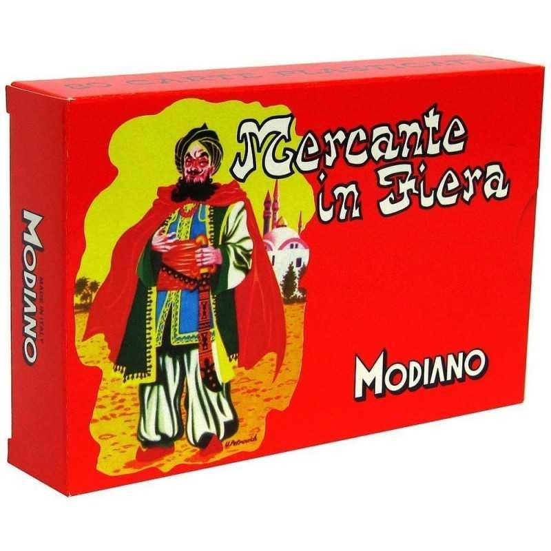 MERCANTE IN FIERA classico MODIANO gioco 80 CARTE PLASTIFICATE tipo 250 MADE IN ITALY