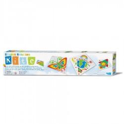 Costruisci il tuo AQUILONE design your own KITE kit artistico 4M da colorare TUTTO INCLUSO età 5+