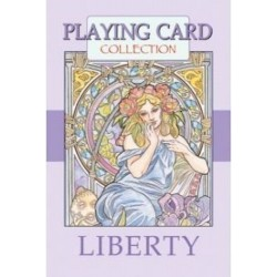MAZZO DI 54 CARTE LIBERTY playing card collection LO SCARABEO EDITOREda gioco CLASSICO