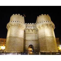 Torres de Serrano-Valencia-Spanien