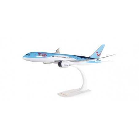 BOEING 787-8 TUI AIRLINES aereo in plastica 611459 modellino HERPA SNAP FIT scala 1:200 da montare SENZA COLLA