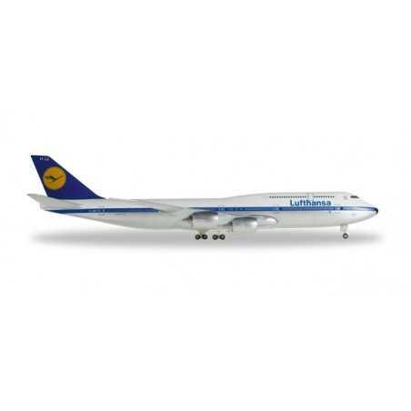LUFTHANSA BOEING 747-8 HERPA WINGS 527743 scala 1:500 plane model