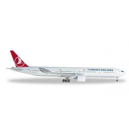 TURKISH AIRLINES BOEING 777-300ER HERPA WINGS 527330 scala 1:500 plane model