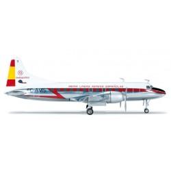IBERIA CONVAIR CV-440 aereo in metallo 554336 modellino HERPA WINGS scala 1:200 plane