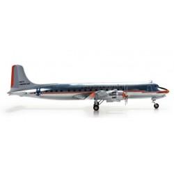 AMERICAN AIRLINES DOUGLAS DC-6 aereo in metallo 553612 modellino HERPA WINGS scala 1:200 plane