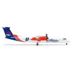 HORIZON AIR BOMBARDIER Q400 aereo in metallo 553728 modellino HERPA WINGS scala 1:200 plane