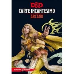 ARCANO carte incantesimo DUNGEONS & DRAGONS 5a Edizione 257 MAXI CARTE incantatore IN ITALIANO età 12+