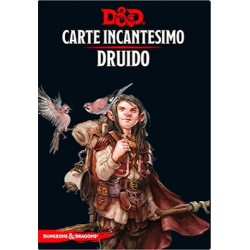 DRUIDO carte incantesimo DUNGEONS & DRAGONS 5a Edizione 131 MAXI CARTE incantatore IN ITALIANO