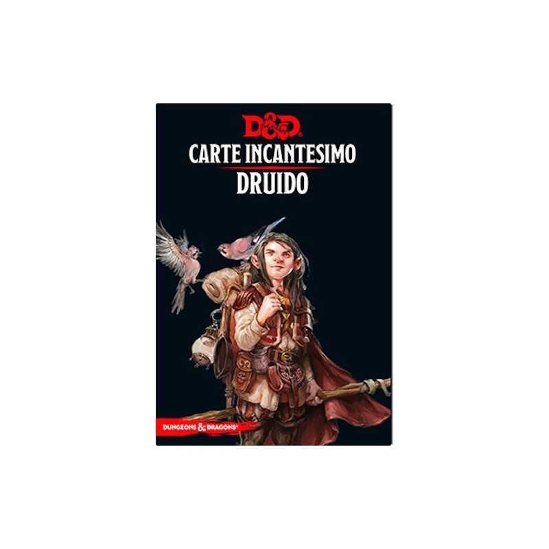 DRUIDO carte incantesimo DUNGEONS & DRAGONS 5a Edizione 131 MAXI CARTE incantatore IN ITALIANO