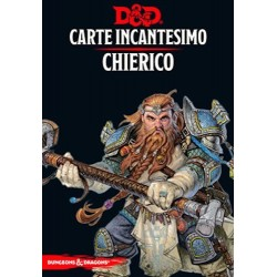 CHIERICO carte incantesimo DUNGEONS & DRAGONS 5a Edizione 153 MAXI CARTE incantatore IN ITALIANO