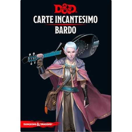BARDO carte incantesimo DUNGEONS & DRAGONS 5a Edizione 128 MAXI CARTE incantatore IN ITALIANO