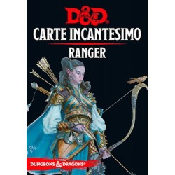 RANGER carte incantesimo DUNGEONS & DRAGONS 5a Edizione 46 CARTE incantatore IN ITALIANO