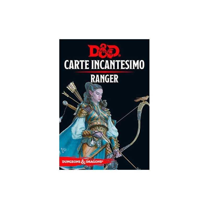 RANGER carte incantesimo DUNGEONS & DRAGONS 5a Edizione 46 CARTE incantatore IN ITALIANO